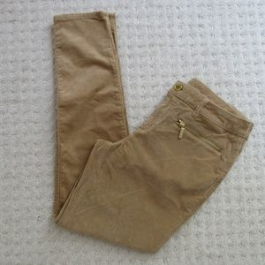 Michael Kors dark camel color skinny pants